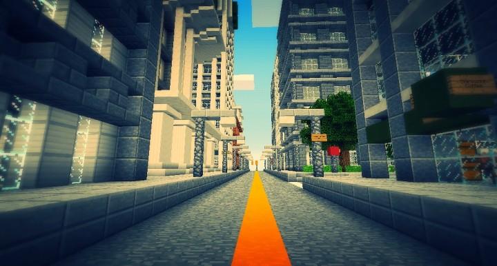 Blocks Angeles - A MCPE City