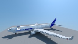 Airbus A330-200F Minecraft Map & Project