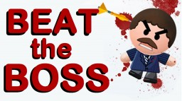 BEAT THE BOSS [With advanced Blood and rightclick detection!] [Professional] Minecraft Map & Project