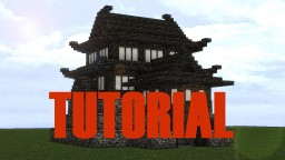 Japanese Castle (Small) Tutorial Minecraft