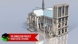 French Gothic Cathedral Minecraft Project