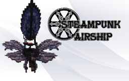 Steampunk airship (needs a name) Minecraft