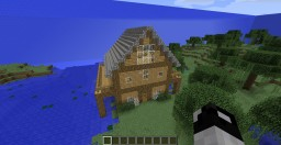 Below Sea Level House Minecraft Map & Project