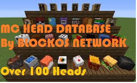 The Checked Mc Players Head Database 150 Heads Minecraft Blog