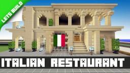 Minecraft Xbox Italian Restaurant Minecraft Map & Project