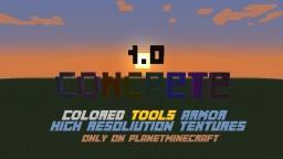 [1.7.10][FORGE] Concrete Mod Minecraft Mod