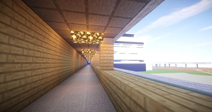 Golden corridor