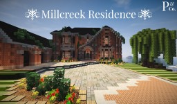 Millcreek Residence, 3 Bed/2.5 Bath Minecraft Map & Project