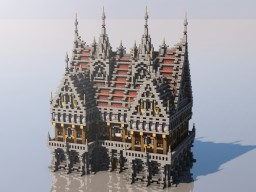 Medieval Mondays #4: Town Hall Minecraft