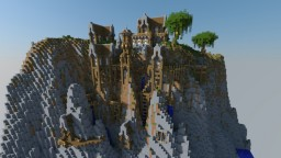 Mountain Side Town Minecraft Map & Project