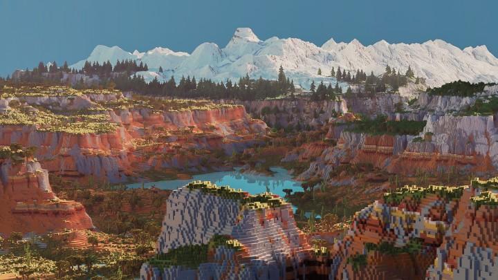 [Download+Cinematic] Custom Biome Terrain Map [4kx4k ...