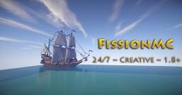 [1.8+] FissionMC ~ Creative ~ WorldEdit ~ 24/7 ~ Pets ~ Disguises Minecraft Server