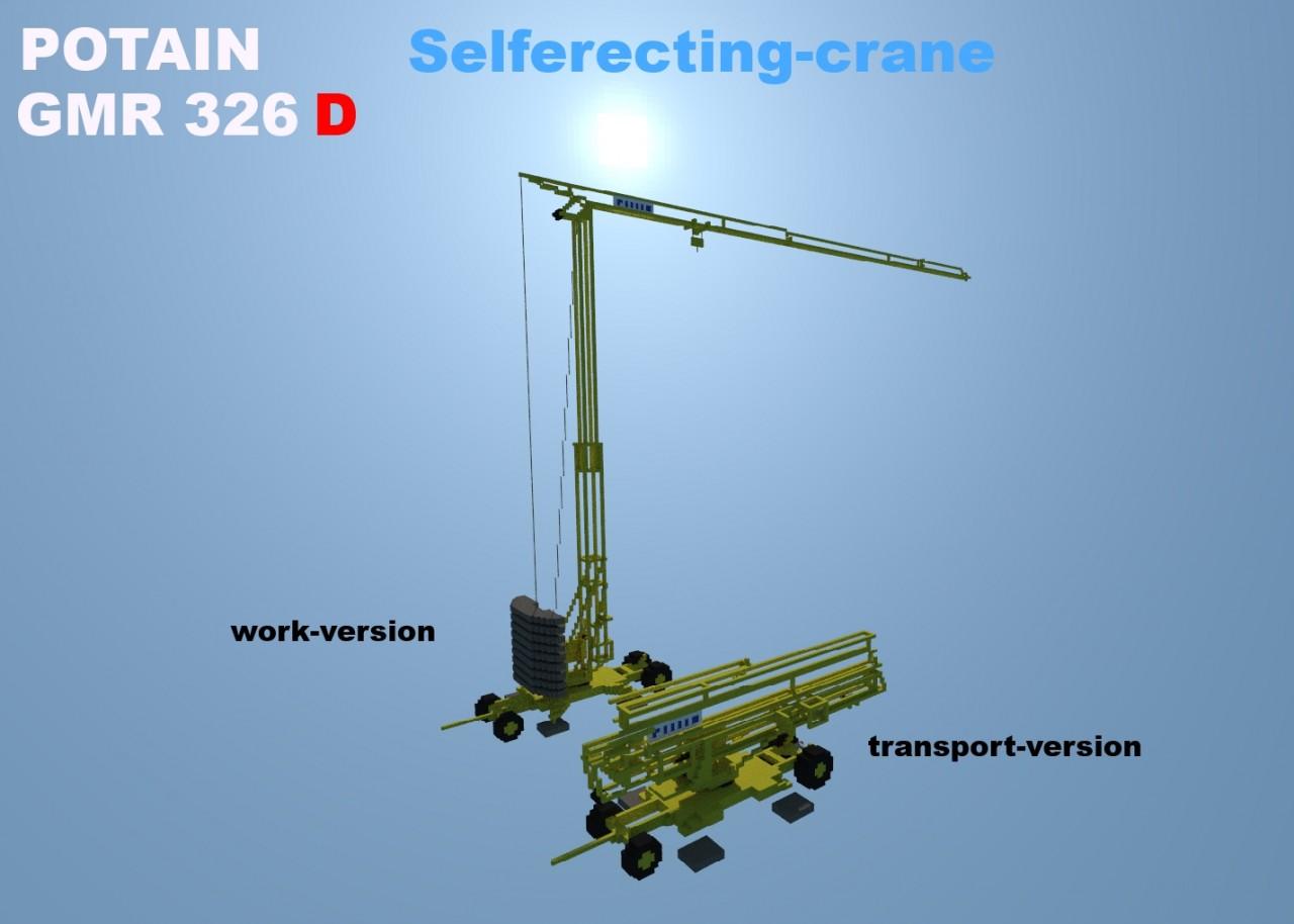 Potain 326 D Tower Crane Minecraft Project