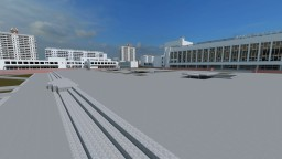 Pripyat before the accident Minecraft