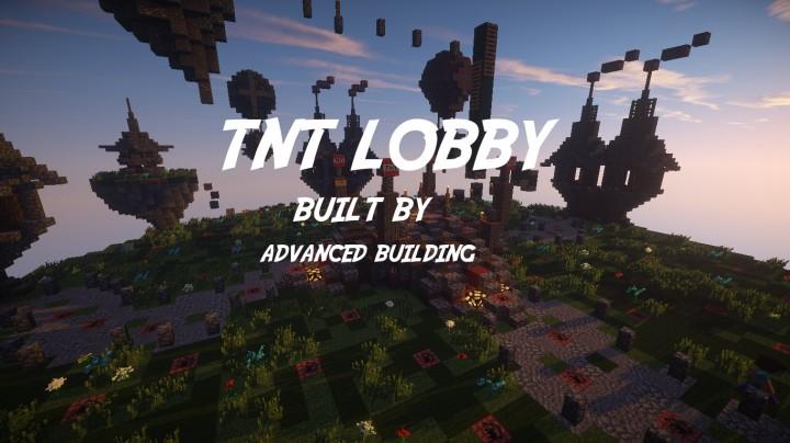 Advanced Building TnT Games Lobby For Advanced Network Minecraft - Minecraft tnt spiele