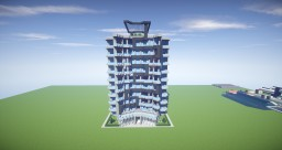 Modern Apartment Building. Minecraft Map & Project