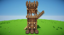 Siege Tower Minecraft Map & Project