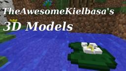 TheAwesomeKielbasa's 3d Models Minecraft Texture Pack