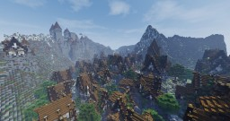 The Nordic city of Nightshield Minecraft Map & Project