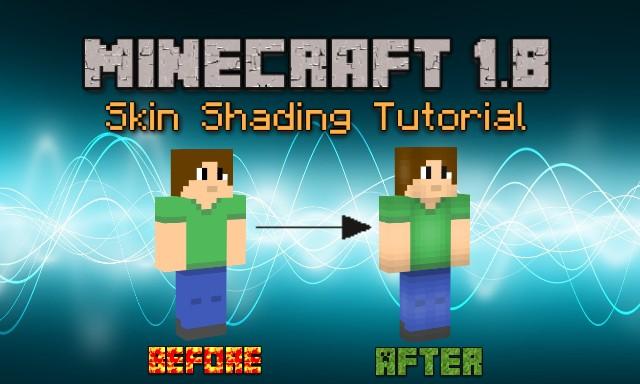 minecraft shade template - minecraft 1 8 skin shading minecraft blog
