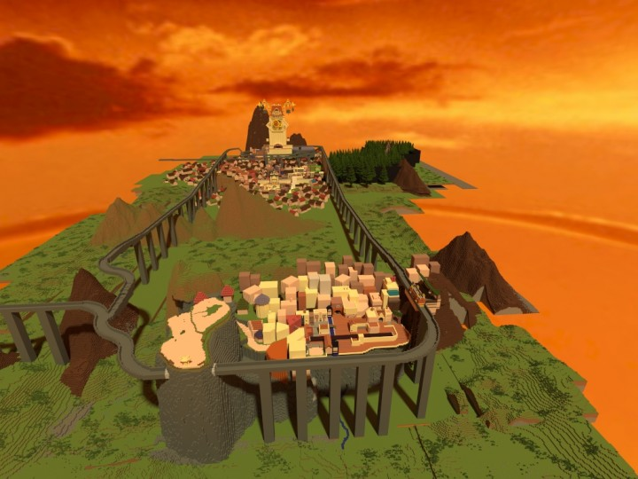 minecraft how to make kingdom