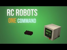 Remote Control Robots in one command! Minecraft