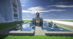 modern well Minecraft Map & Project
