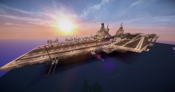 Project SUPER ZERO : Aircraft carrier A.L.Z 9 De Julio Minecraft