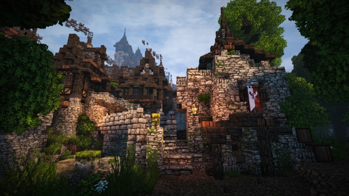 how to build a medieval castle minecraft xbox