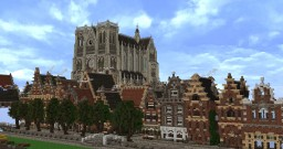 Dutch city project. - progress update no.1 Minecraft Project