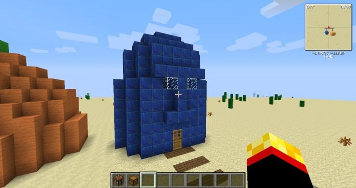 Squidwards House Minecraft Map
