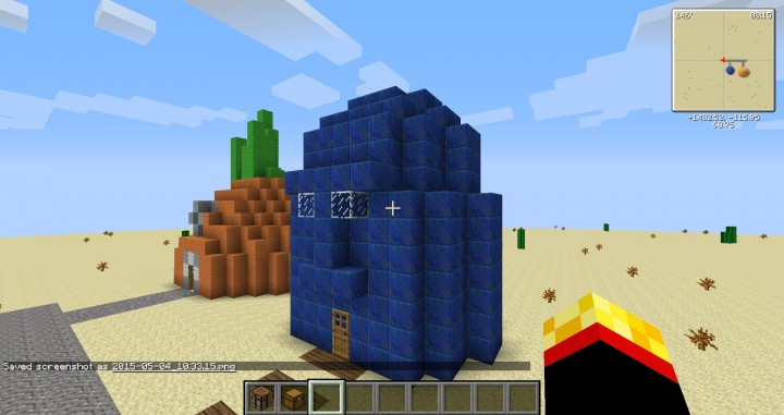Squidwards House Minecraft Project