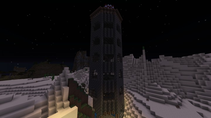 A parkour tower part of challenge