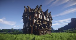 Medieval Family Manor Minecraft Map & Project