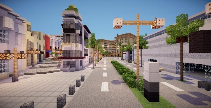 Minecraft Map Beverly Hills Minecraft Project