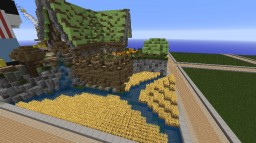 TerraDesign - Medieval Farmer House Minecraft Project