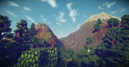 WorldPainter Test #1: (Couldn't Load Everything, Sucky PC) Minecraft Map & Project