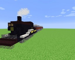 The Polar Express Train 1.8.4+ (UPDATED) Minecraft
