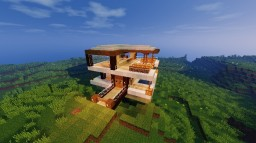 Modern House 3 Minecraft Map & Project