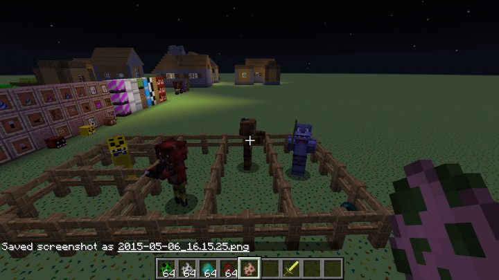 Fnaf craft2546 s five nights at freddys texture pack minecraft