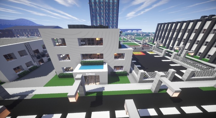 Coastrow Police Station by Sname3 and Tobbe
