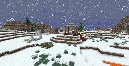 Custom Survival: Forever Frozen | The Forbidden Iceland. Now 1.11! Minecraft Map & Project
