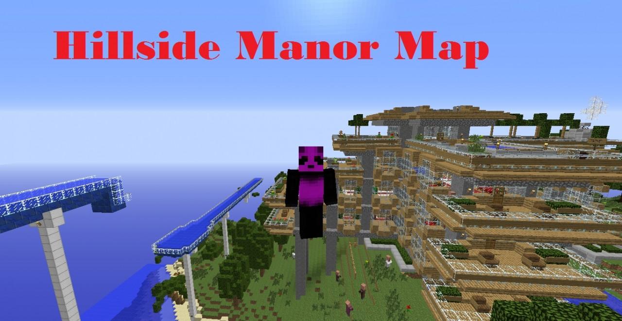 Hillside Manor: Hillside Manor Review! Minecraft Blog