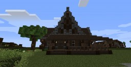 Rustic Farm House Minecraft Map & Project