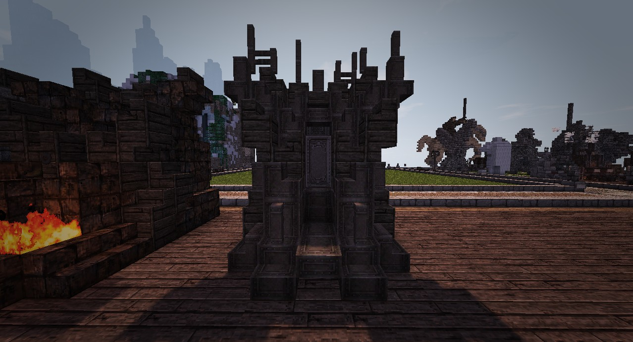 Iron Throne Minecraft Project