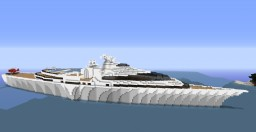 252 block Cruise Yacht        Customisable Minecraft Project