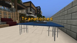 Trampolines By MjDerp Minecraft Map & Project