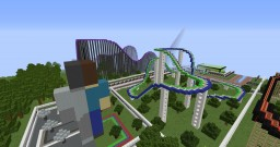 MinePark (A minecraft theme park) For Clicki! Minecraft