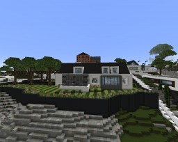 Contemporary House #2 Minecraft Map & Project