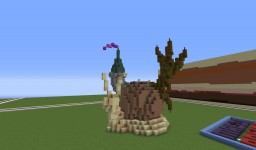 I was bored so I made a snail! Minecraft